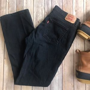 Levi's 515 Boot Cut High Waisted Mom Jeans - 10 M